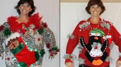 Les chandails laids de Noël, une vraie affaire pour cette mère