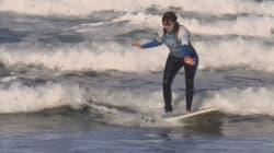 Carmen López es la primer española en participar en el Mundial de Surf