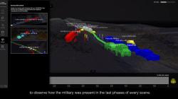 La plataforma digital que revela a detalle cómo ocurrió la desaparición de los 43 de