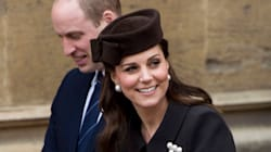 Duchess Of Cambridge Steps Out For Easter Service In Surprise