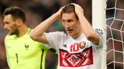 Certains internautes ne se sont pas remis du maillot de la Biélorussie contre la