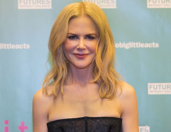 Nicole Kidman wows in sexy, corset-inspired dress