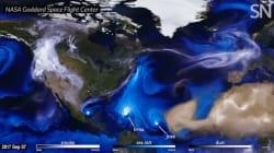 L'évolution des récents ouragans vus de l'espace va vous