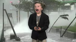 Little Kid's TV Weather Report Has A 100% Chance Of Making You