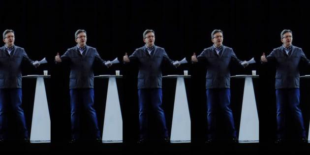 Multi-meeting en hologrammes: les 7 personnalités de Jean-Luc Mélenchon
