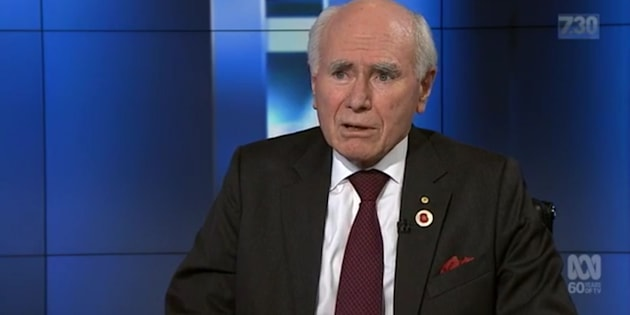 "John Howard said ""radical recasting of our attitude towards the United States"" will not occur."