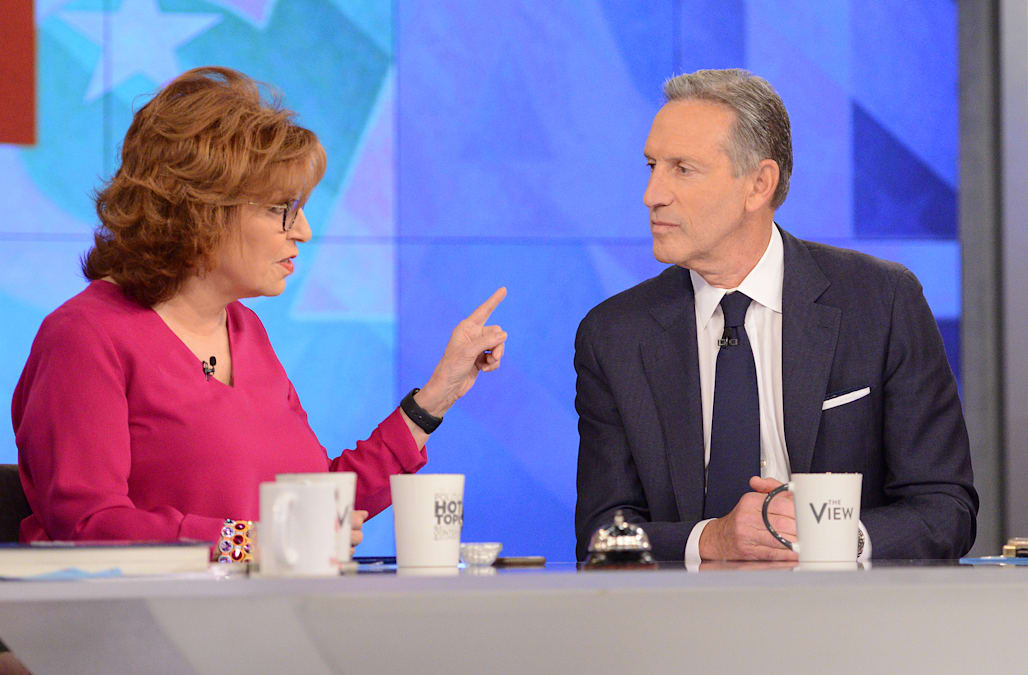 Image result for images of howard schultz on the view