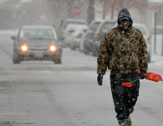 Cross-country storm threatens ahead of New Year's