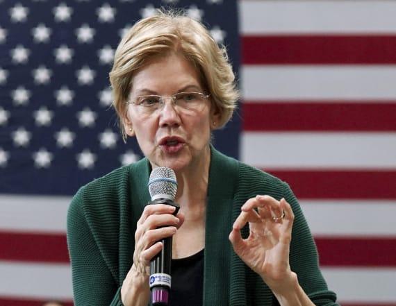Warren goes after Buttigieg, Bloomberg