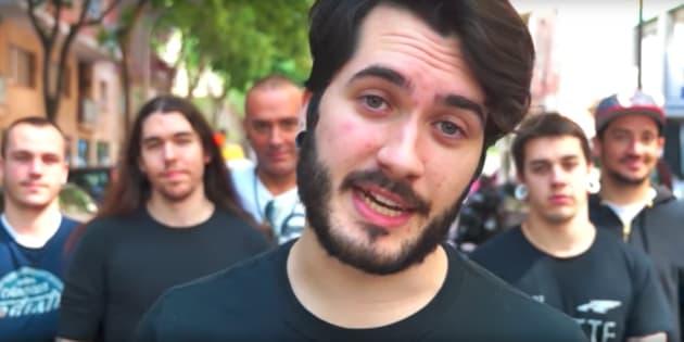 Wismichu, en uno de sus vídeos.