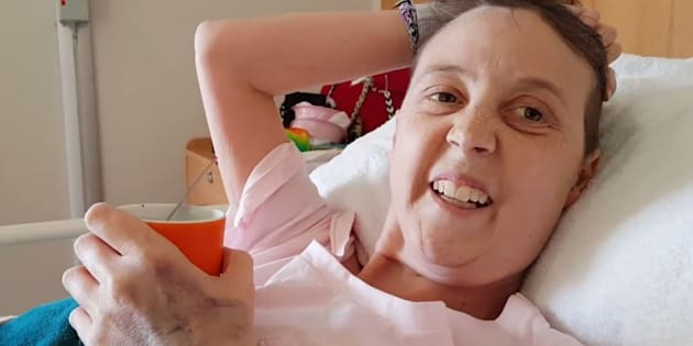 Connie Johnson thanked Carrie Bickmore for her support in a heartfelt video.