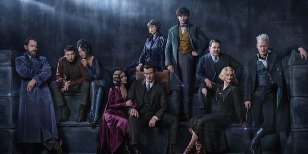 """""""Les crimes de Grindelwald"""", prochain spin-off d'Harry Potter dévoile un visuel et une date de sortie."""