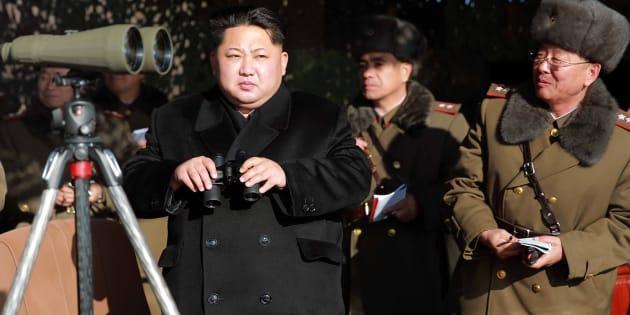 Au lendemain d'un défilé militaire géant, la Corée du Nord rate un essai de missile
