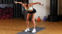Try This Quick Full Body Dumbbell Workout With Kayla