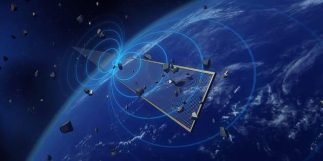 Il y a beaucoup trop de déchets en orbite autour de la Terre