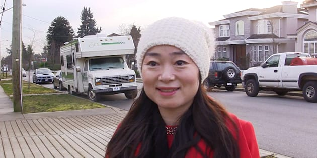 Former Burnaby South Liberal candidate Karen Wang speaks during an interview in Burnaby, B.C., on Jan. 15, 2019, in this image taken from video.