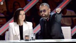 La bronca de Risto Mejide a una concursante de 'Factor X' hace llorar a Fernando