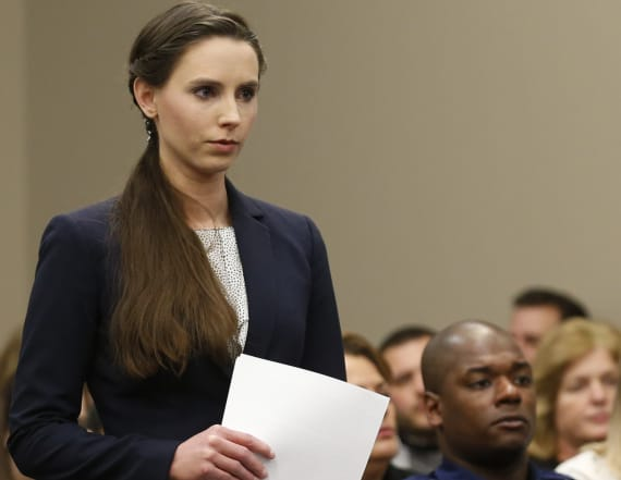 Larry Nassar victim gives baby symbolic name