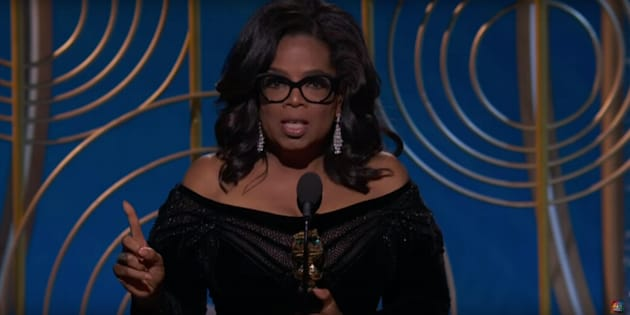 Oprah Winfrey délivre un discours émouvant... et politique — Golden Globes