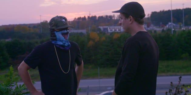 Dans le cadre du documentaire «Cannabis illégal», le journaliste Simon Coutu a notamment rencontré plusieurs trafiquants de cannabis.