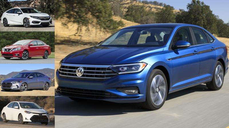 Volkswagen Jetta vs  top-selling small sedans spec comparo | Autoblog