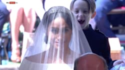 Esta provavelmente é a foto mais fofa e engraçada de todo o casamento