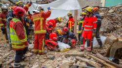 Un sixième corps découvert sous les décombres des immeubles effondrés à
