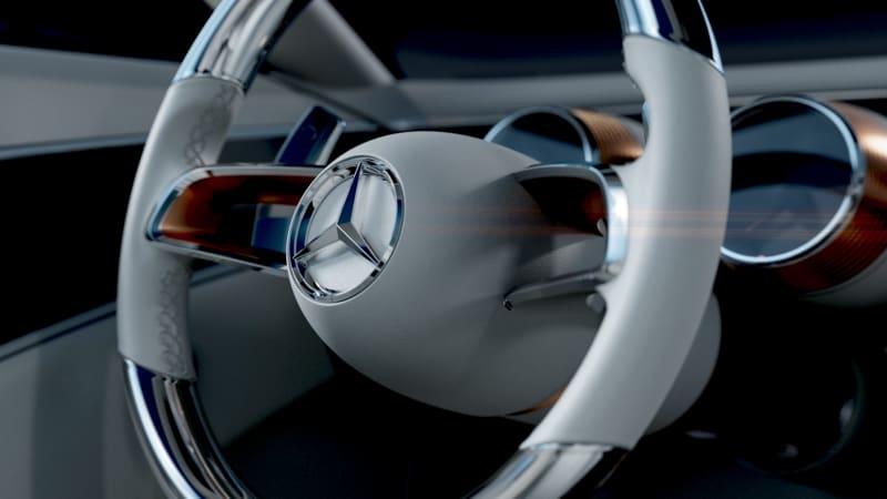 Mercedes teases a new Maybach concept convertible