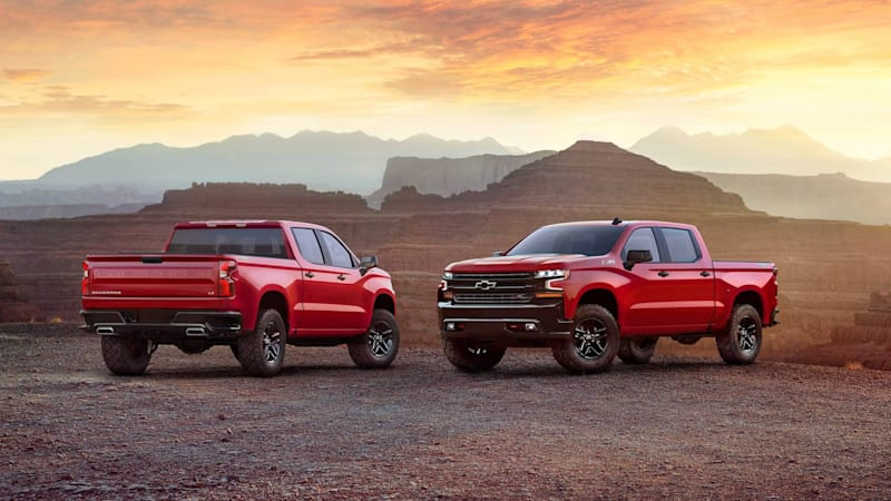 Chevy Trucks teases its 2019 Silverado while looking back at the last 100 years