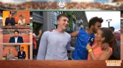 VIDEO: El acoso de un tenista a una reportera que provoca