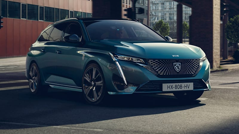 Peugeot 308 SW wagon looks about as good as its big 508 sibling