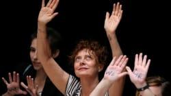 Susan Sarandon et des centaines de femmes arrêtées après un sit-in au Sénat
