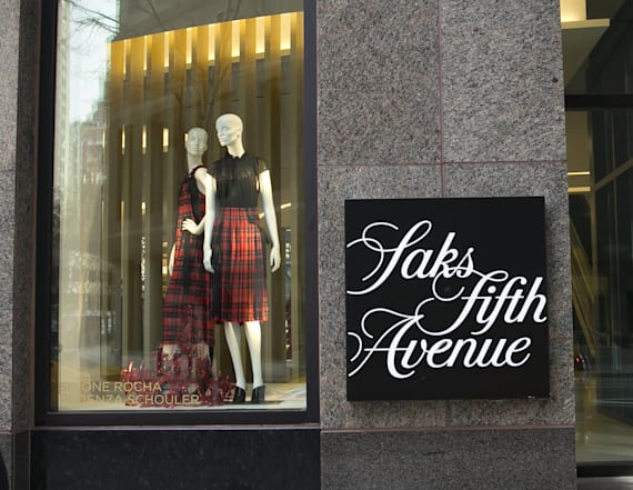 Saks is having a major sale on designer brands