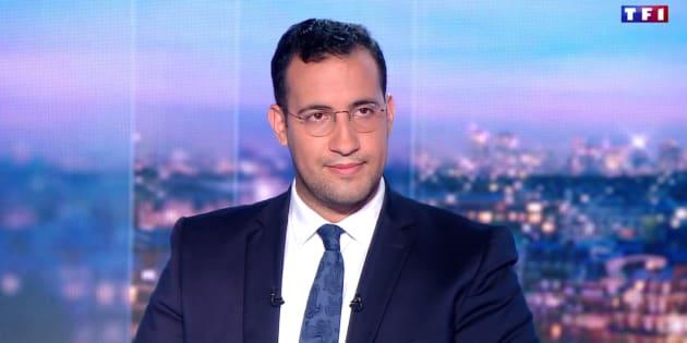 Extrait du passage d'Alexandre Benalla au journal de 20h de TF1, le 27 juillet 2018.