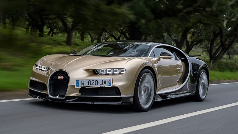 Bugatti veyron mpg at top speed