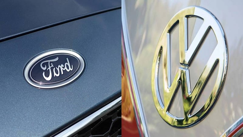 photo image VW, Ford to reveal 'global alliance' at Detroit Auto Show, sources say