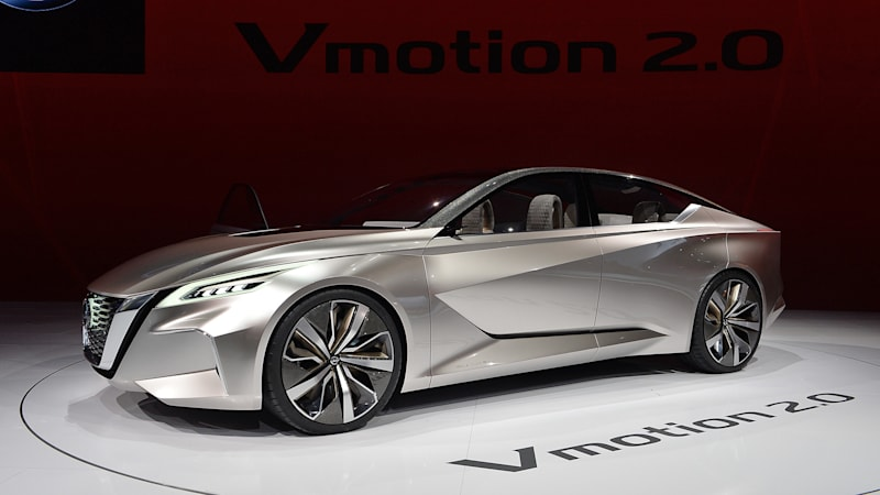 Nissan Vmotion 2.0 concept hints at future sedan and autonomy plans