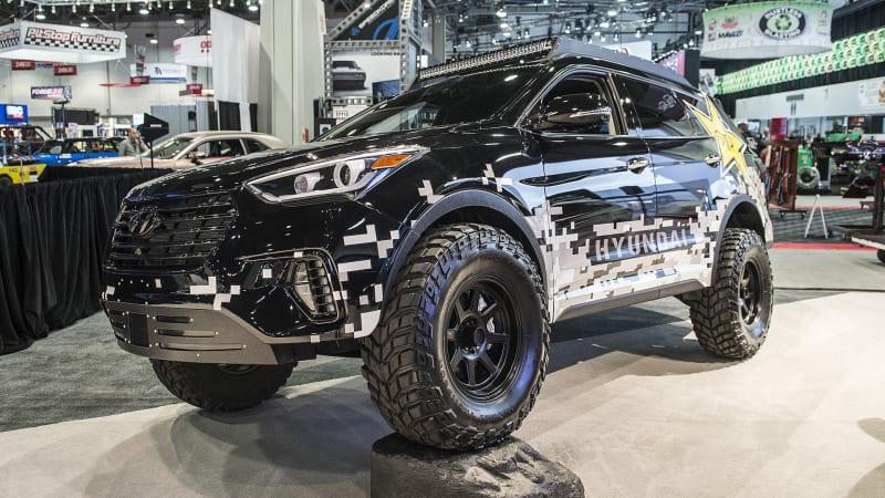 Hyundai Preps An Off Road Shredder For Sema Autoblog