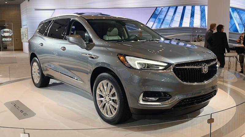 2018 Buick Enclave How Engineers Made It Larger Lighter More Sophisticated Autoblog