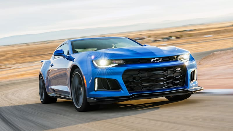 The 198-mph 2017 Chevrolet Camaro ZL1 is almost as fast as a Ferrari ...