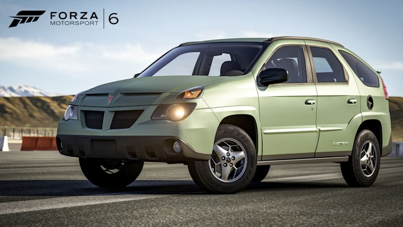New Forza 6 Car Pack Will Let You Race The Pontiac Aztek Autoblog