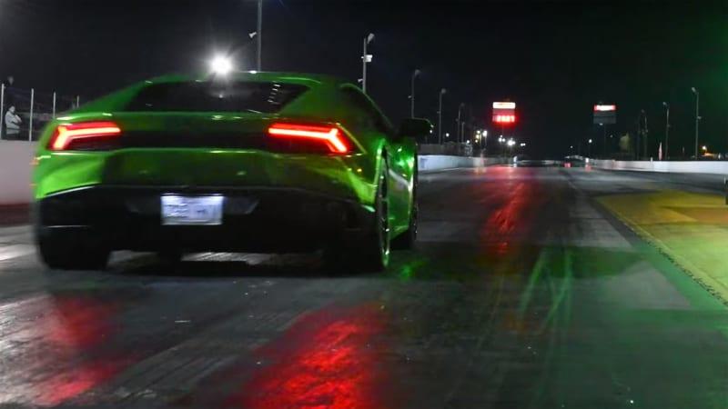 Lamborghini Huracan Does Quarter Mile In Just 8 6 Seconds Autoblog