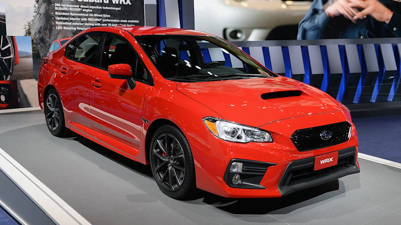 2018 Subaru Wrx And Wrx Sti Pair Updated Looks With Performance