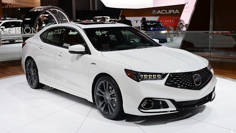 2018 Acura TLX gets sporty A-Spec trim with mid-cycle ...