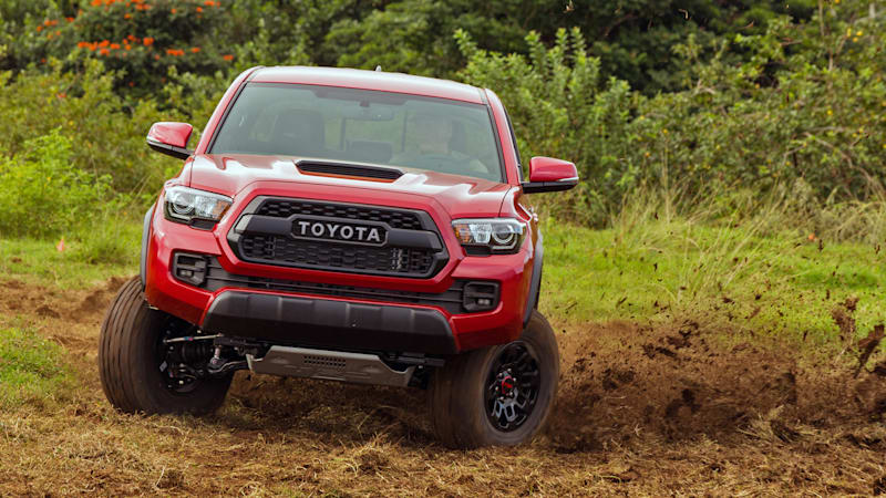taco supreme 2017 toyota tacoma trd pro first drive autoblog. Black Bedroom Furniture Sets. Home Design Ideas