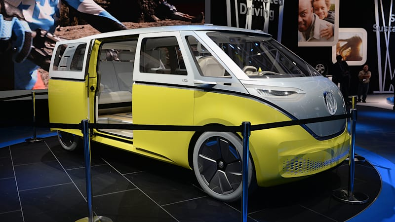The Volkswagen Id Buzz Autonomous Ev Is Yet Another Microbus