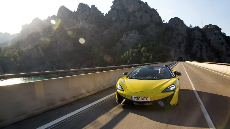 You May Want To Look Away Supercar Purists Mclaren Views Its Future As Partially Electrified And Autonomous Autocar Reported Today That S Ceo Mike