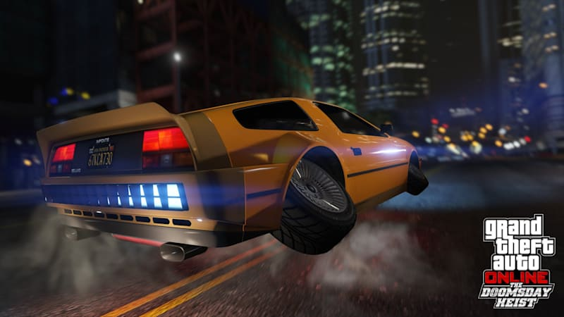 Grand Theft Auto Will Have A Back To The Future DeLorean - Cool cars gta