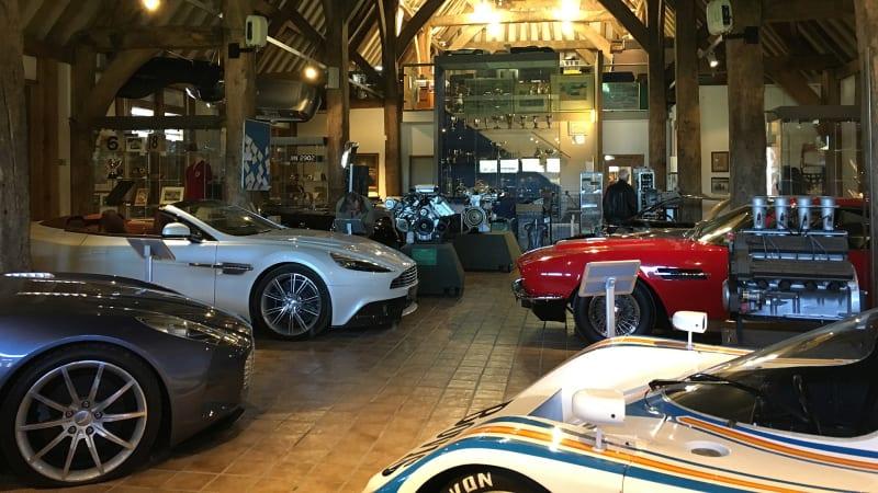 Inside The Aston Martin Heritage Trust The Company S Secret Museum