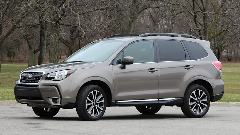 What Grownups Drive Fast 2017 Subaru Forester 2 0xt Touring Review Autoblog